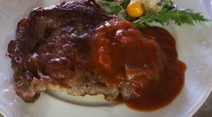 In het Drentse steakhuis kunt u genieten van deze mooie steak. Ribeye met lekkere saus. Uiteraard glutenvrij. Uit eten is een beleving