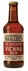 Vienna bier van Maallust. Dit bier schenken wij veel als lekker alternatief voor pils. Bij een steak f een visje doet dit bier het goed. Ook op het terras een feestje. Ons restaurant in de buurt van Assen is groot fan van de Maallust bieren.
